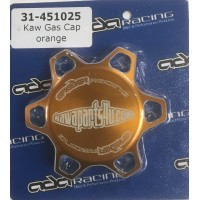 Gas cap Kawasaki Orange