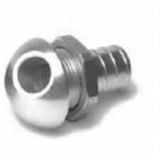 bilge aluminium 45deg fitting silver [57-4021]