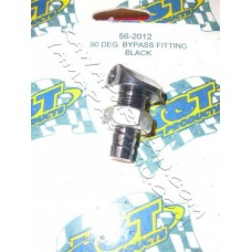 90 deg bypass fitting black [56-2012]