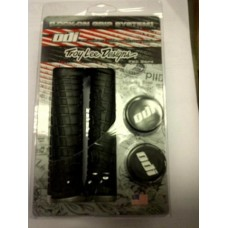 Troy Lee Black Grip Grey clamp [L30TLB-G]