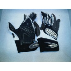 Jet pilot Gloves Rev black and white [u1206]
