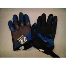 Jet pilot Gloves blue and grey [u1210]
