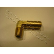 90 degree brass fiting (cooling line head/pipe) [64-0007]